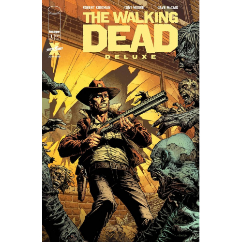 WALKING DEAD DELUXE 1 CVR A FINCH & MCCAIG