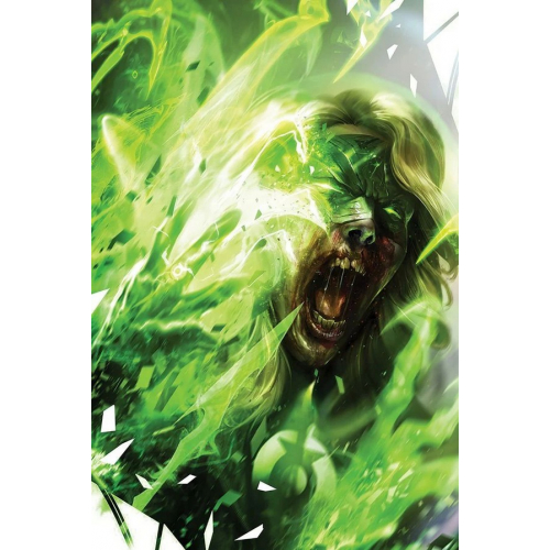 DCEASED: DEAD PLANET 4 card stock variant cover FRANCESCO MATTINA (VO)