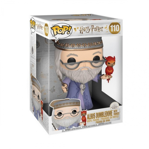 Funko Pop Harry Potter - Super Sized Albus Dumbledore with Fawkes 110