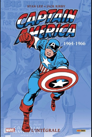 CAPTAIN AMERICA : L'INTÉGRALE 1964-1966 (NOUVELLE ÉDITION) (VF)