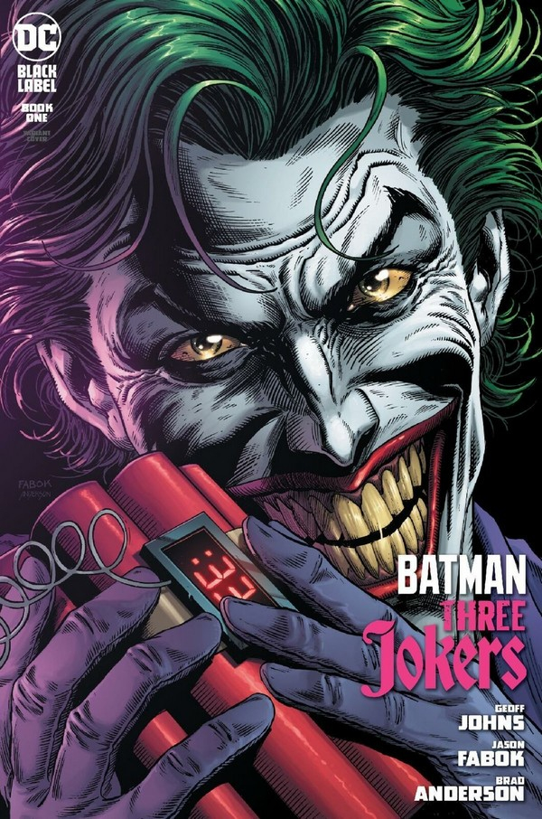 BATMAN : THREE JOKERS 1 FABOK PREMIUM COVER C (VO)