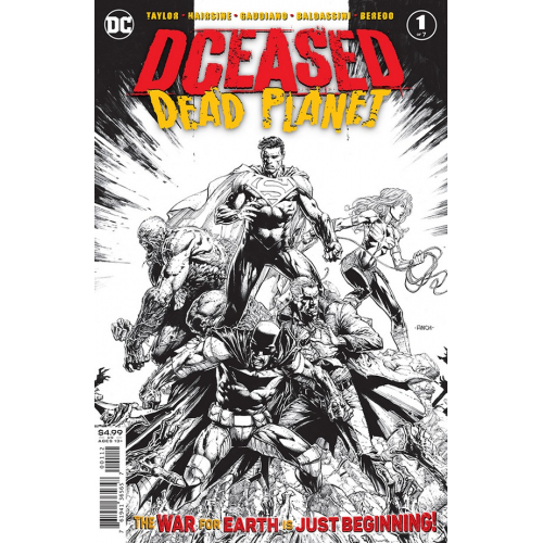 DCEASED DEAD PLANET 1 (OF 6) - 2ND PRINTING (VO)