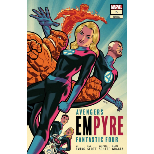 EMPYRE 5 (OF 6) MICHAEL CHO FF VAR (VO)