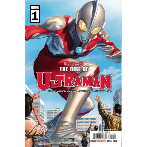 RISE OF ULTRAMAN 1 (OF 5) (VO)