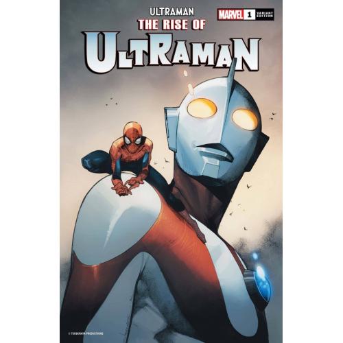 RISE OF ULTRAMAN 1 (OF 5) COIPEL SPIDER-MAN VAR (VO)