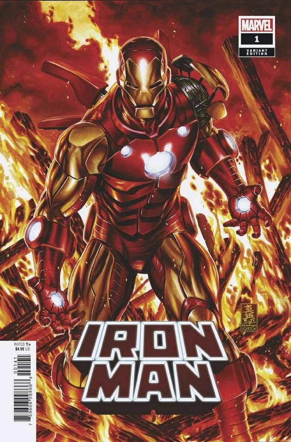 Iron Man 1 1:50 Mark Brooks Variant (VO)