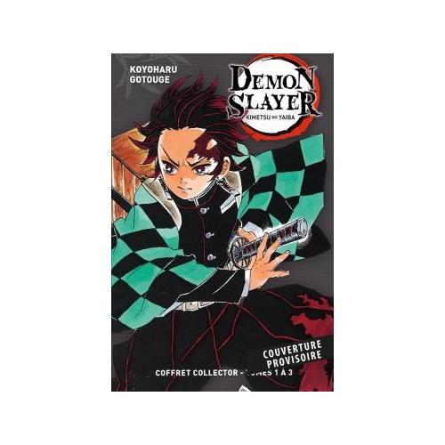 Coffret Demon Slayer Tome 1 à Tome 3 (VF)