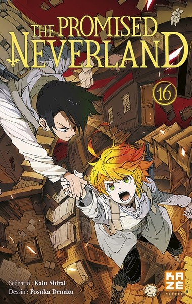 The promised Neverland Tome 16 (VF)
