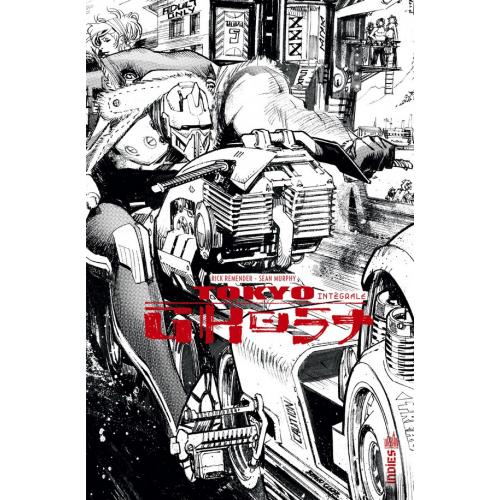 Tokyo Ghost Intégrale Noir et Blanc (VF)