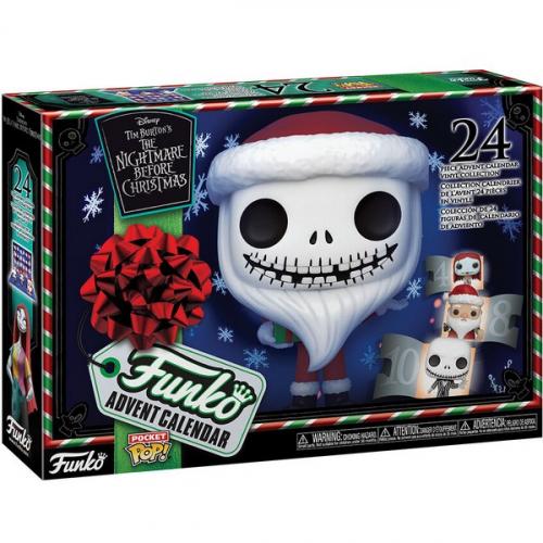 Calendrier de l'avent Funko Pop Pocket Nightmare Before Christmas
