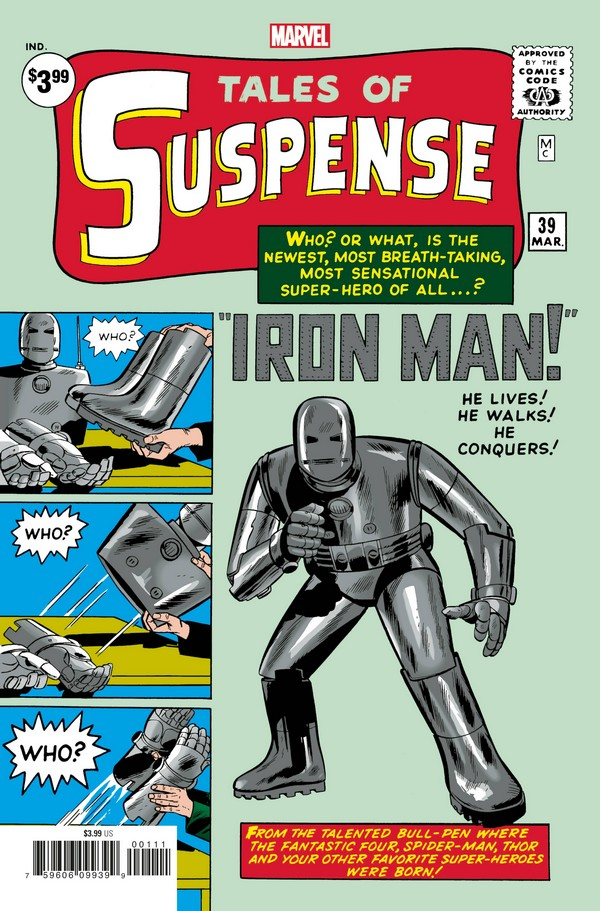 TALES OF SUSPENSE 39 FACSIMILE EDITION (VO)