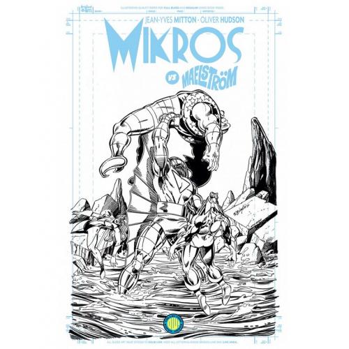 Mikros vs Maelström - Blueline Variant Edition (VF)