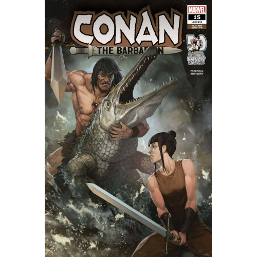 CONAN THE BARBARIAN 15 1 :25 Variant (VO)