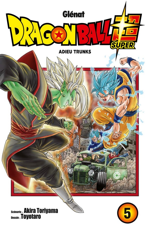 Dragon Ball Super Tome 5 (VF)