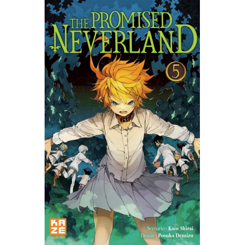The promised Neverland Tome 5 (VF)