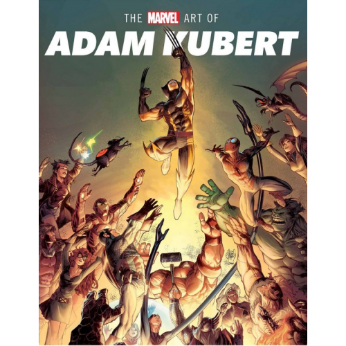 THE MARVEL ART OF ADAM KUBERT HC (VO)