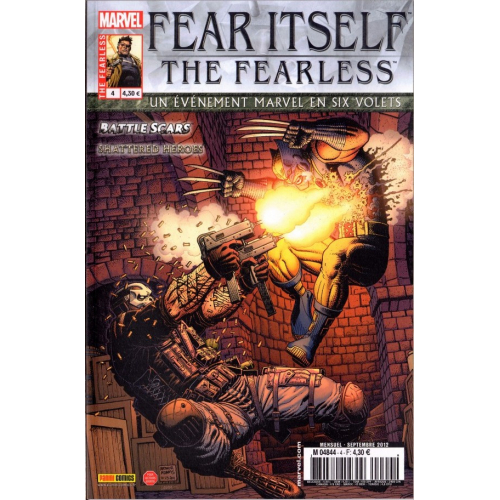 Fear Itself : the fearless 4 fascicule (vf) occasion