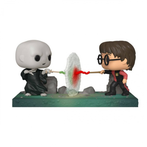 Funko Pop 119 Harry Potter POP! Movie Moment Vinyl figurine Harry VS Voldemort 9 cm