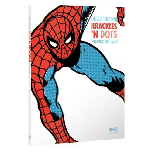 Artbook Oliver Hudson Krackles N Dots 2 (VF) Signé par OLIVER HUDSON