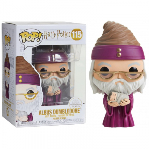 Funko Pop Harry Potter Holiday Albus Dumbledore with Baby Harry 115