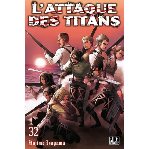 L'attaque des Titans Tome 32 (VF)