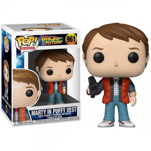 Funko Pop Back to the future Marty in puffy vest 961