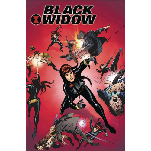 BLACK WIDOW POSTER BOOK TP (VO)