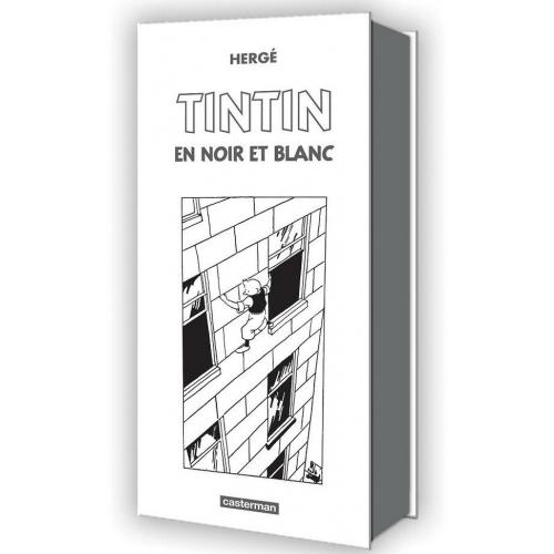 Tintin, coffret mini-albums noir et blanc (VF)