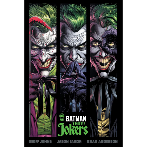 BATMAN: THREE JOKERS HC (VO)