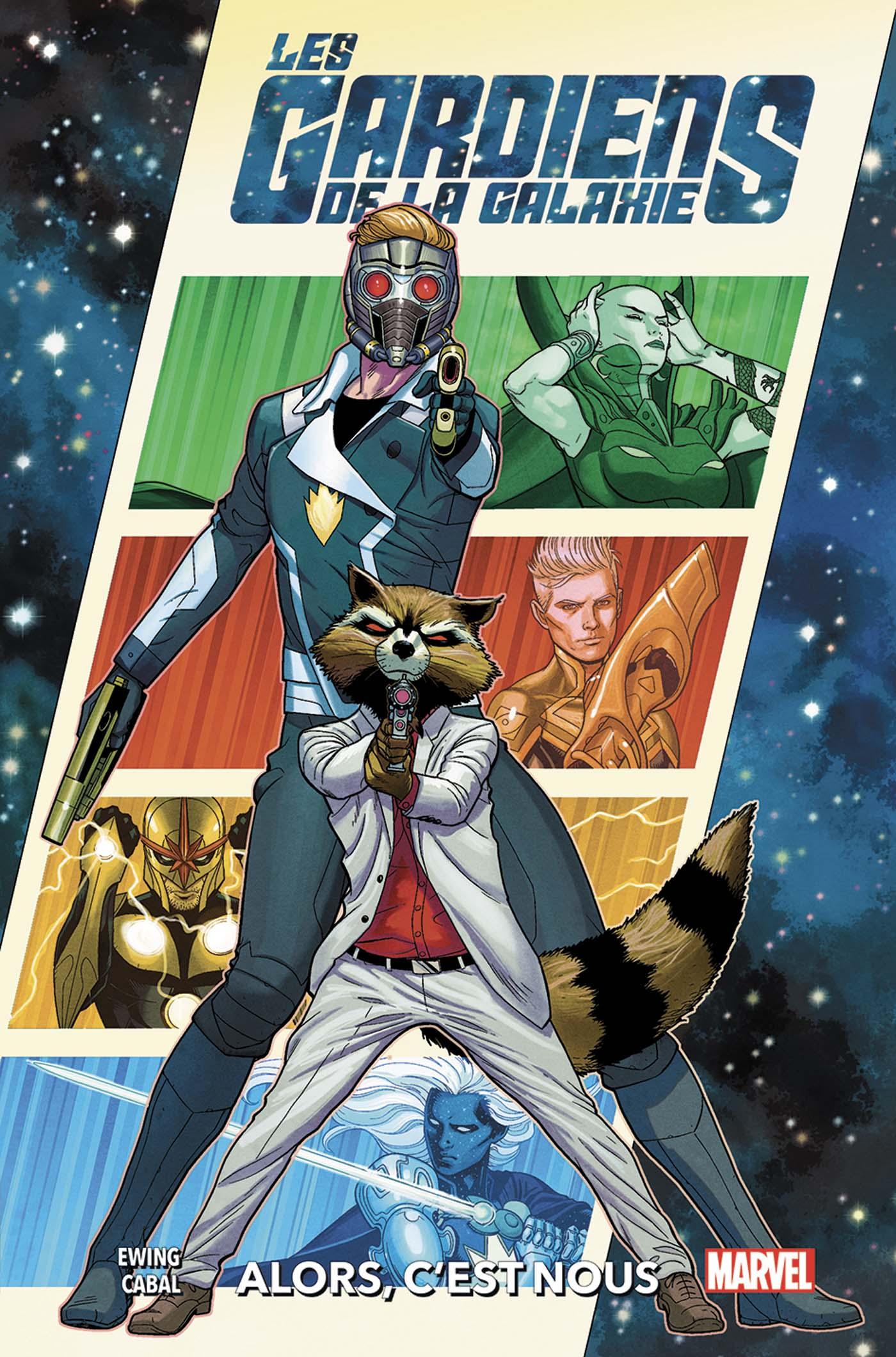 Les gardiens de la Galaxie Tome 1 (VF)