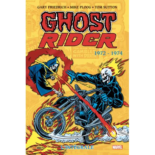 Ghost Rider : L'intégrale 1972 -1974 (VF)