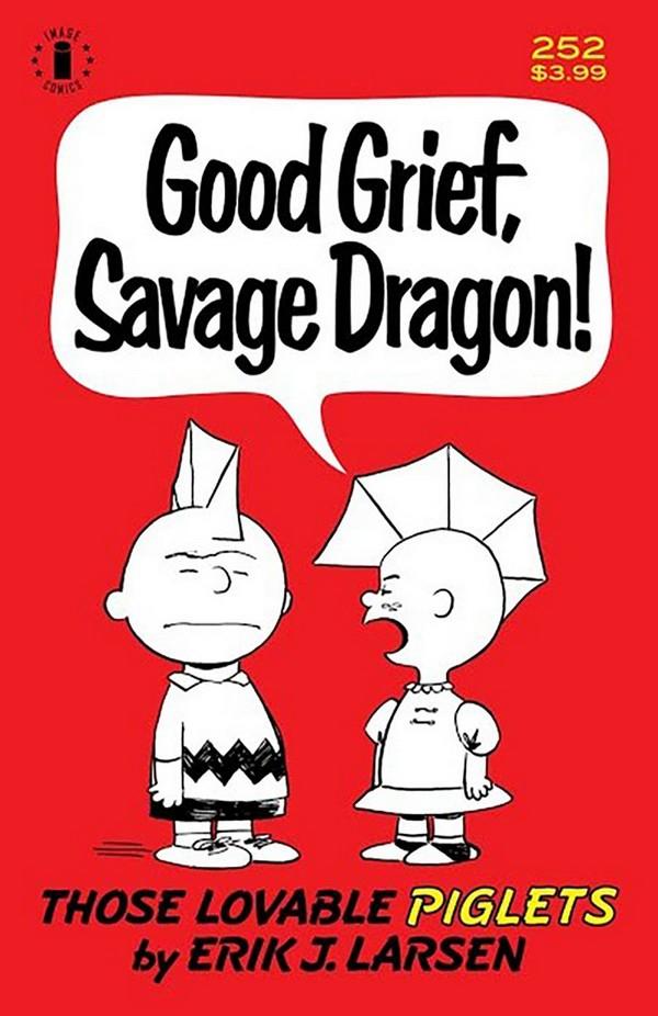 SAVAGE DRAGON 252 2ND PTG CGC GRADED (VO)