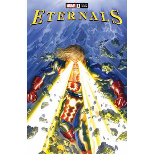 ETERNALS 1 ALEX ROSS VAR (VO)