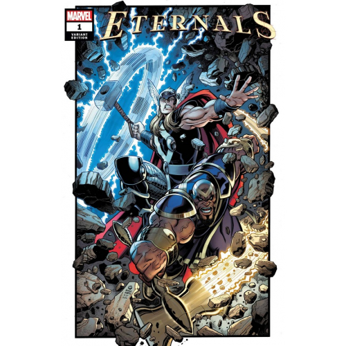 ETERNALS 1 ART ADAMS VAR (VO)