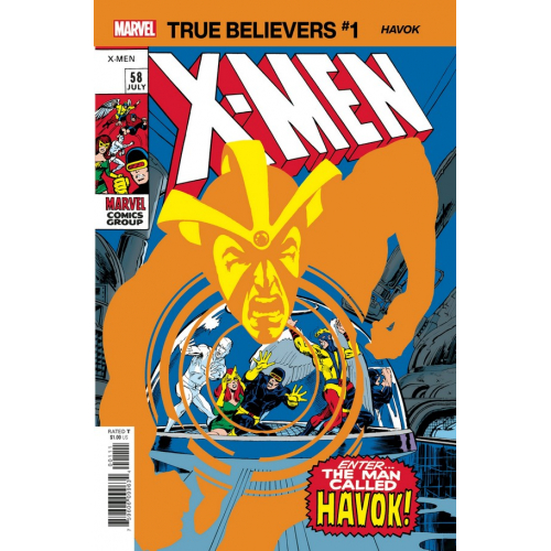 X-MEN HAVOK 1 (VO)