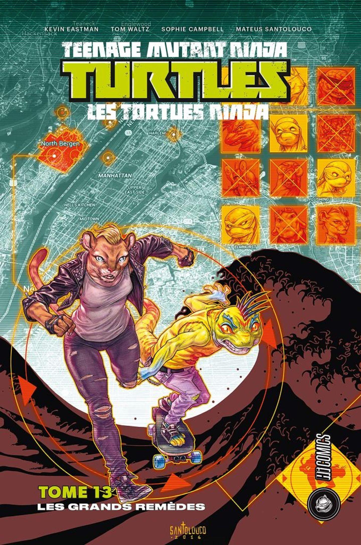 TMNT Tortues Ninja - Tome 13 (VF)