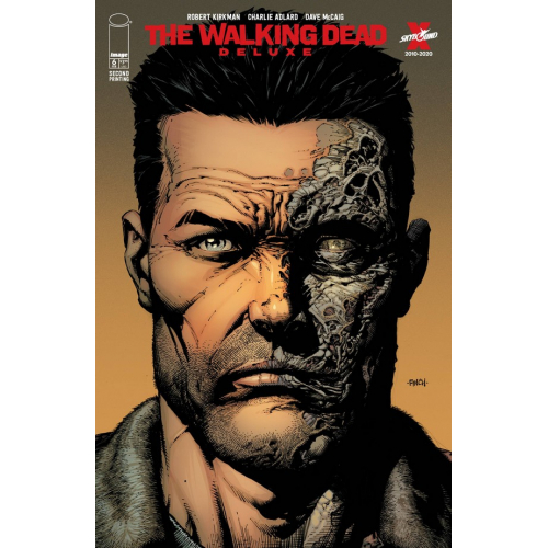 WALKING DEAD DELUXE 6 CVR A FINCH & MCCAIG 2nd Print (VO)