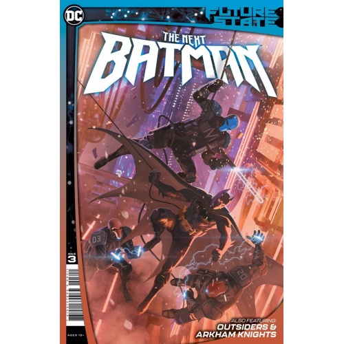 FUTURE STATE THE NEXT BATMAN 3 (OF 4) CVR A LADRONN (VO)