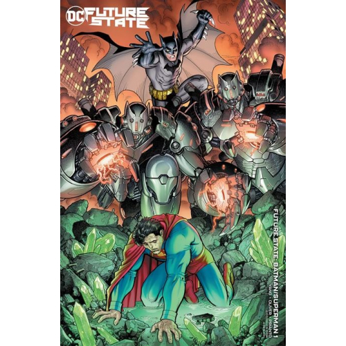 FUTURE STATE BATMAN SUPERMAN 1 (OF 2) CVR B ARTHUR ADAMS CARD STOCK VAR (VO)