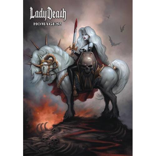 LADY DEATH HOMAGES ARTBOOK HC (VO)
