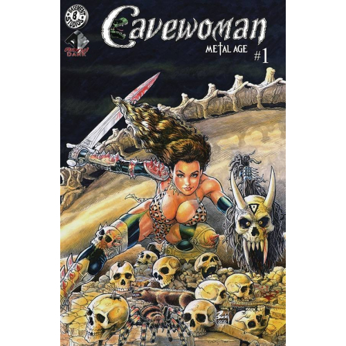 CAVEWOMAN METAL AGE 1 (OF 2) CVR E BUDD ROOT (VO)