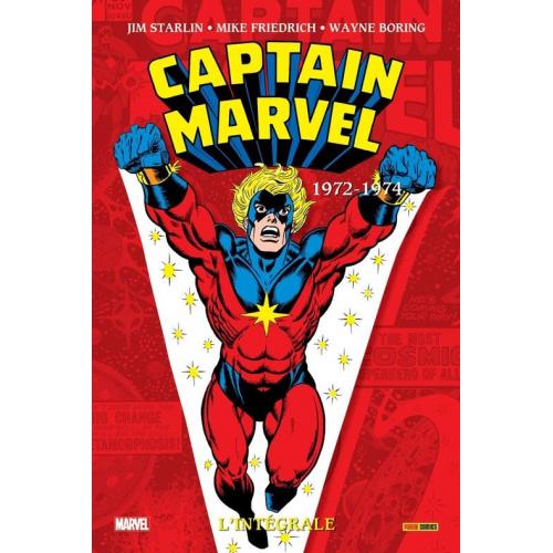 Captain Marvel : L'intégrale 1972-1974 (VF)