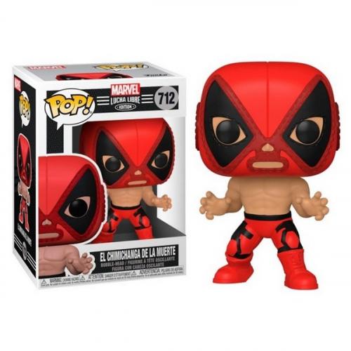 Funko Pop Luchadores Deadpool 712