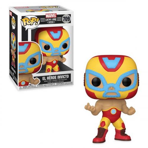 Funko Pop Luchadores Iron Man 709