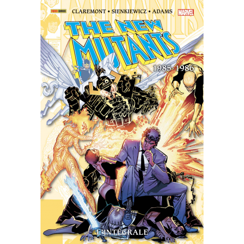 NEW MUTANTS : L'INTEGRALE 1985-1986 - TOME 4 (VF)