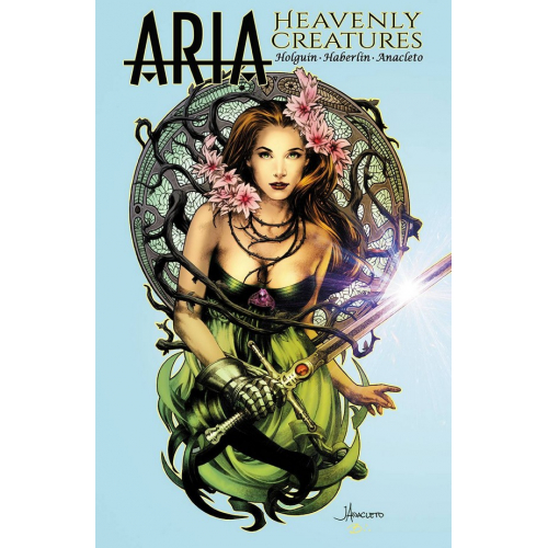 ARIA HEAVENLY CREATURES (ONE-SHOT) CVR A ANACLETO & HABERLIN (VO)