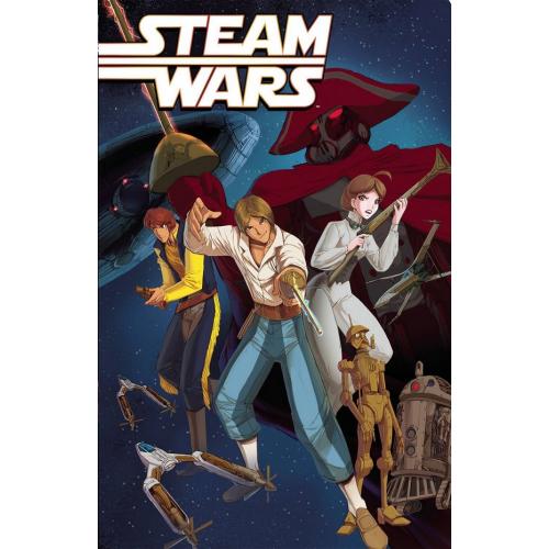 STEAM WARS TP 2ND PTG (VO)