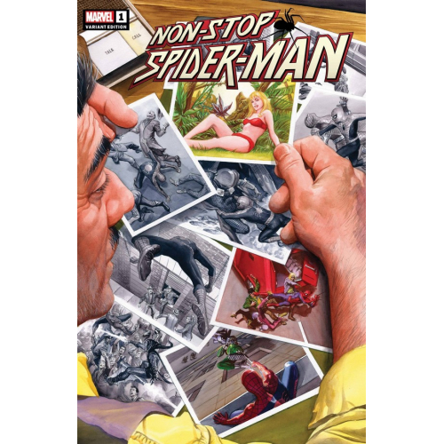 Non-Stop Spider-Man 1 (VO) ALEX ROSS VARIANT