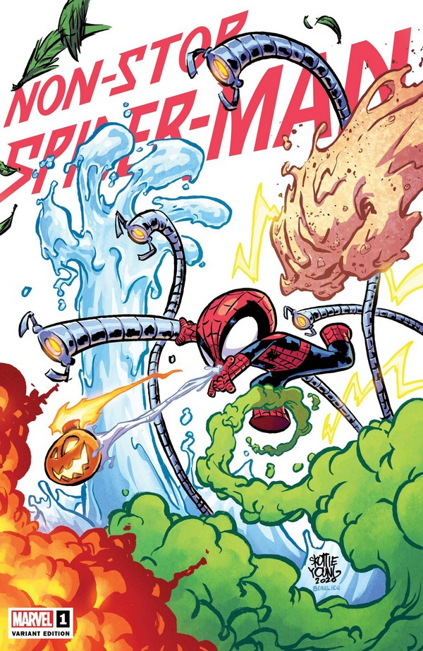 Non-Stop Spider-Man 1 (VO) SKOTTIE YOUNG VARIANT
