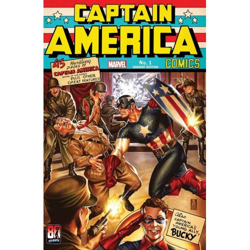 CAPTAIN AMERICA ANNIVERSARY TRIBUTE 1 BROOKS VARIANT (VO)